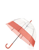 Original Moustache Bubble Umbrella, Orange