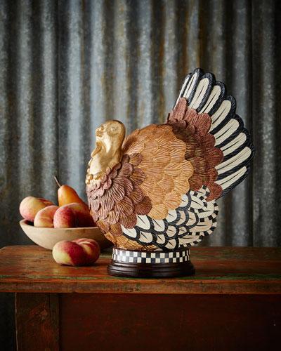 Autumn Harvest Turkey Figure