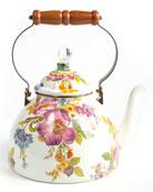 MacKenzie-Childs Flower Market Three-Quart Tea Kettle