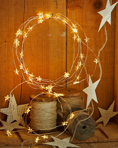 Clear Starry Lights, Set of 2