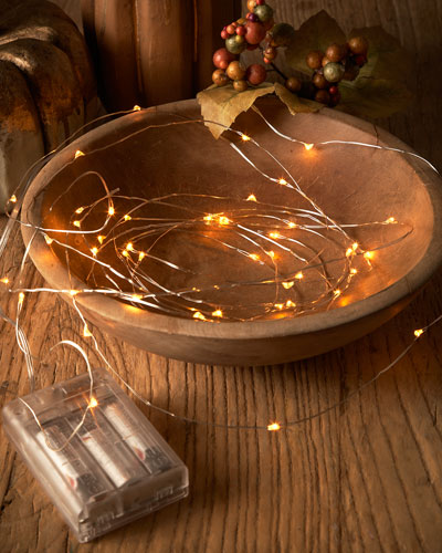 White Starry Lights, Set of 2