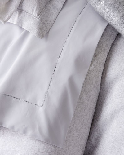 King Percale Fitted Sheet