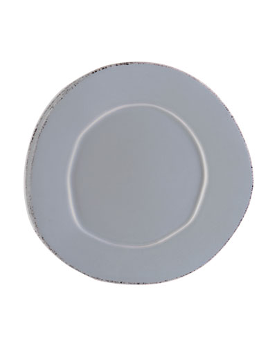 Lastra Salad Plate, Gray