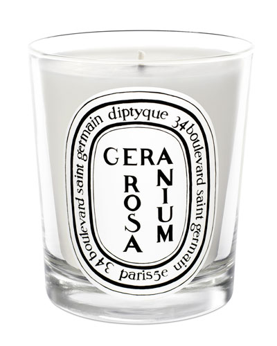 Geranium Rose Scented Candle