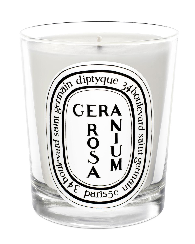 Diptyque Geranium Rose Scented Candle