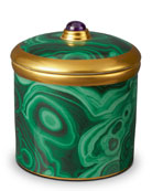 Malachite Candle