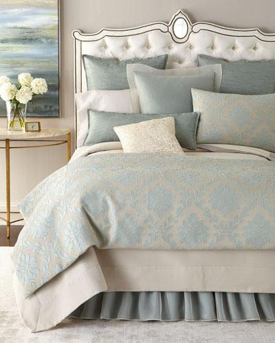 Fino Lino Linen & Lace Standard Woodmere Sham