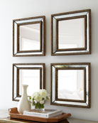 Norlina Square Wall Mirrors, Set of 2