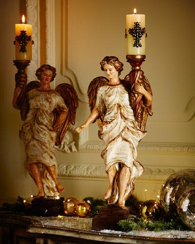 Regina Angel Candleholder