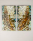 """Intergalactic I & II"" Giclees, 2-Piece Set"