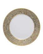 Syracuse Taupe Dinner Plate