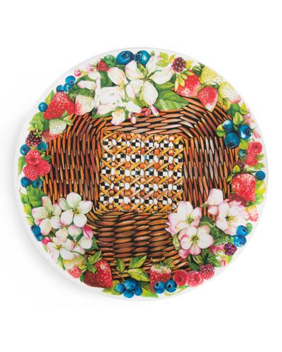Berries & Blossoms Serving Platter