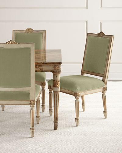 Valerie Velvet Dining Chair, Set of 2