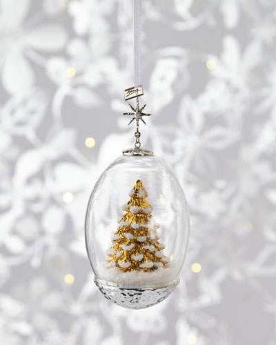 Tree Egg Christmas Ornament