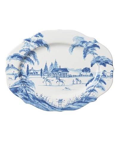 Country Estate Oval Platter