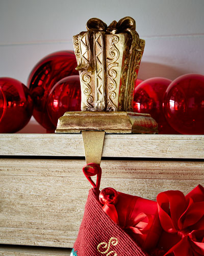 'Rectangular Gift Box Stocking Holder
