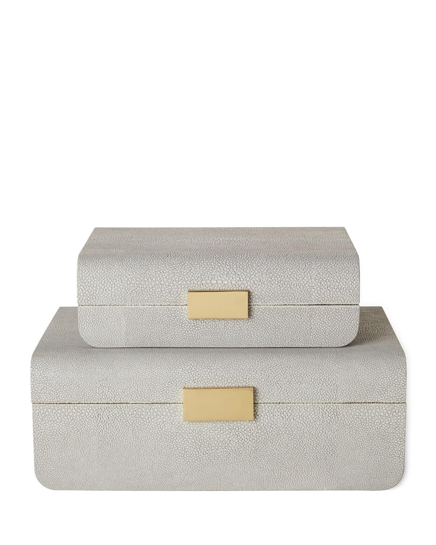 Aerin Clothing SMALL MOD SHAGREEN JEWELRY BOX
