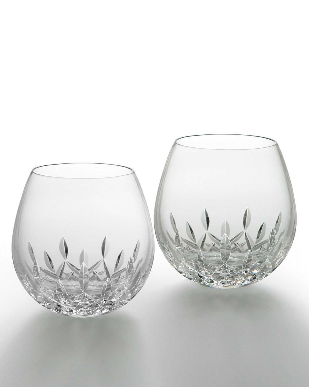 Lismore Nouveau Light Red Wine Glasses, Set of 2