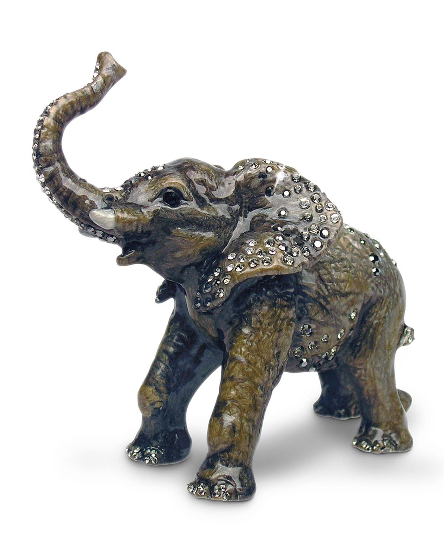Jay Strongwater Clothing BABY ELEPHANT OBJET