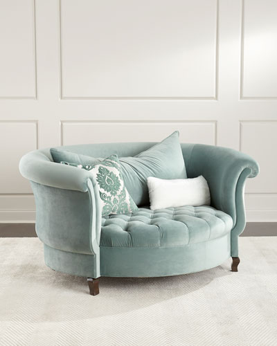 Harlow Sage Cuddle Chair