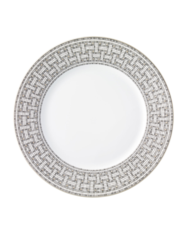 Herm S Kitchen & dinings MOSAIQUE AU 24 PLATINUM DINNER PLATE
