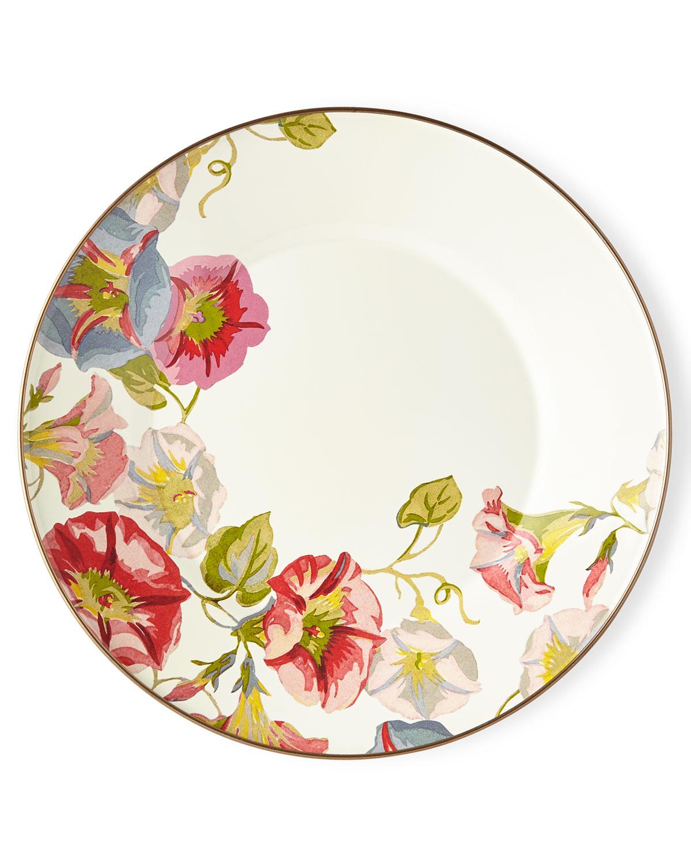 Morning Glory Dinner Plate