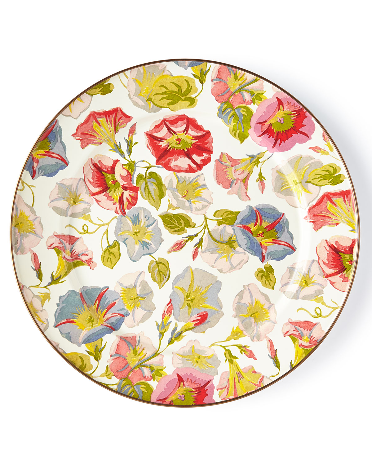 Morning Glory Charger Plate