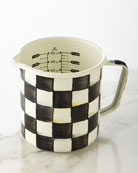 Courtly Check Measuring Cup