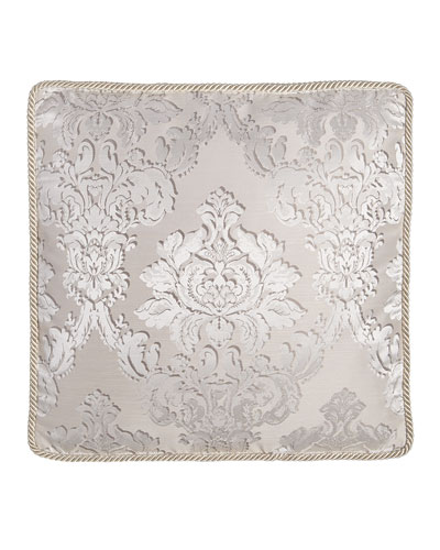 European Vasari Damask Box Sham