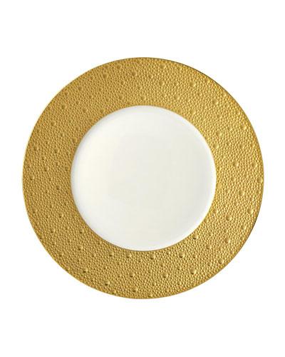 Ecume Gold Dinner Plate