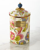 Large Morning Glory Canister