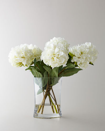 Heavenly Peonies Faux Floral Arrangement