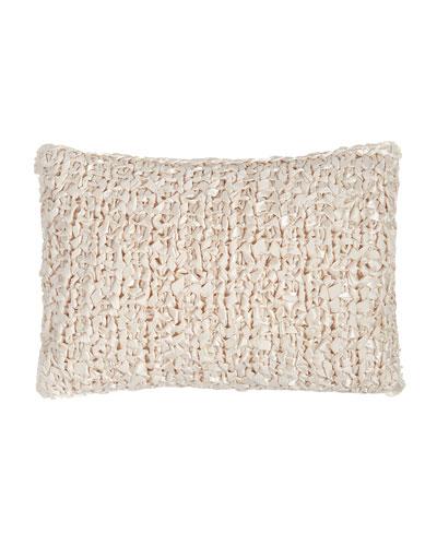 Ribbon-Knit Pillow, 14