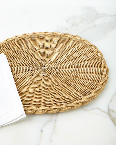 Oval Basketweave Placemat