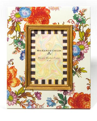 FLOWER MARKET FRAME 4X6