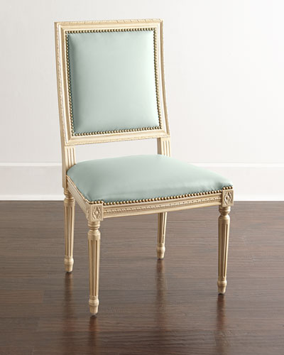 Ingram Frost Leather Dining Chair