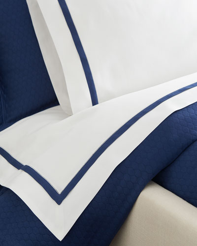 King Oxford Fitted Sheet
