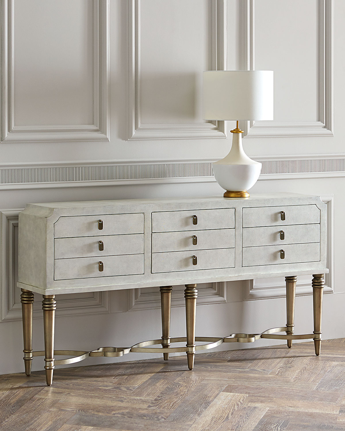 Aubree 6Drawer Console