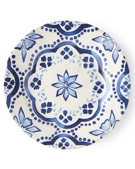 Juliska Iberian Indigo Side/Cocktail Plate