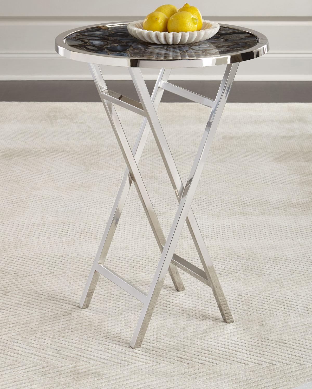 Layla Agate Butler Table