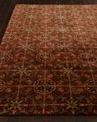 "Rustic Tiles Runner, 2'6"" x 10'"