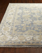 Exquisite Rugs Blue Ivy Oushak Rug, 9' x