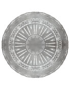 Flare Placemat, Silver
