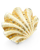 Ivory Coast Shell Napkin Ring