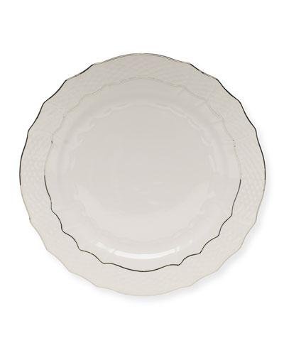 Platinum Edge Service Plate