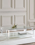 Landis Acrylic Coffee Table