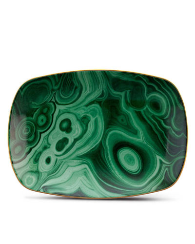 Malachite Small Tray
