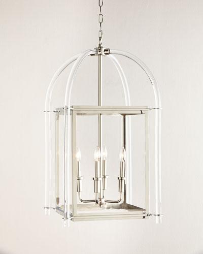 Acrylic Lantern Pendant Light