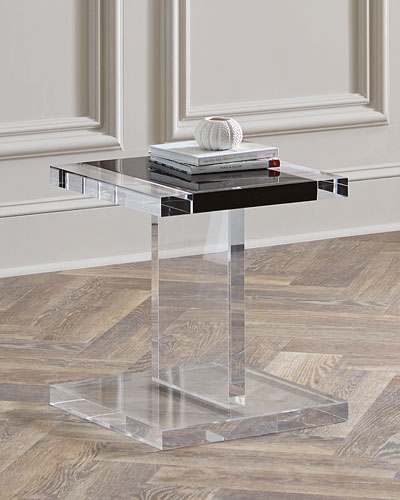 Waldo Acrylic Side Table