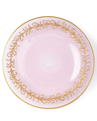 Blush Oro Bello Salad Plates, Set of 4